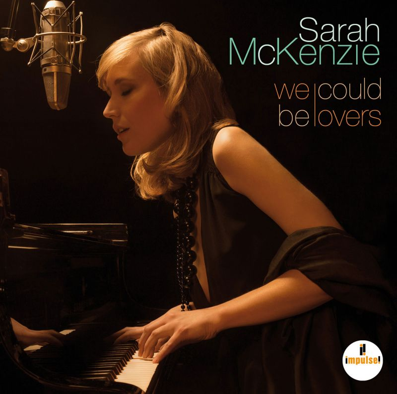 Album Cover Sarah McKenzie - We could be lovers